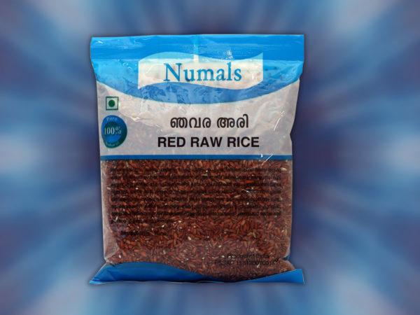 red raw rice njavara