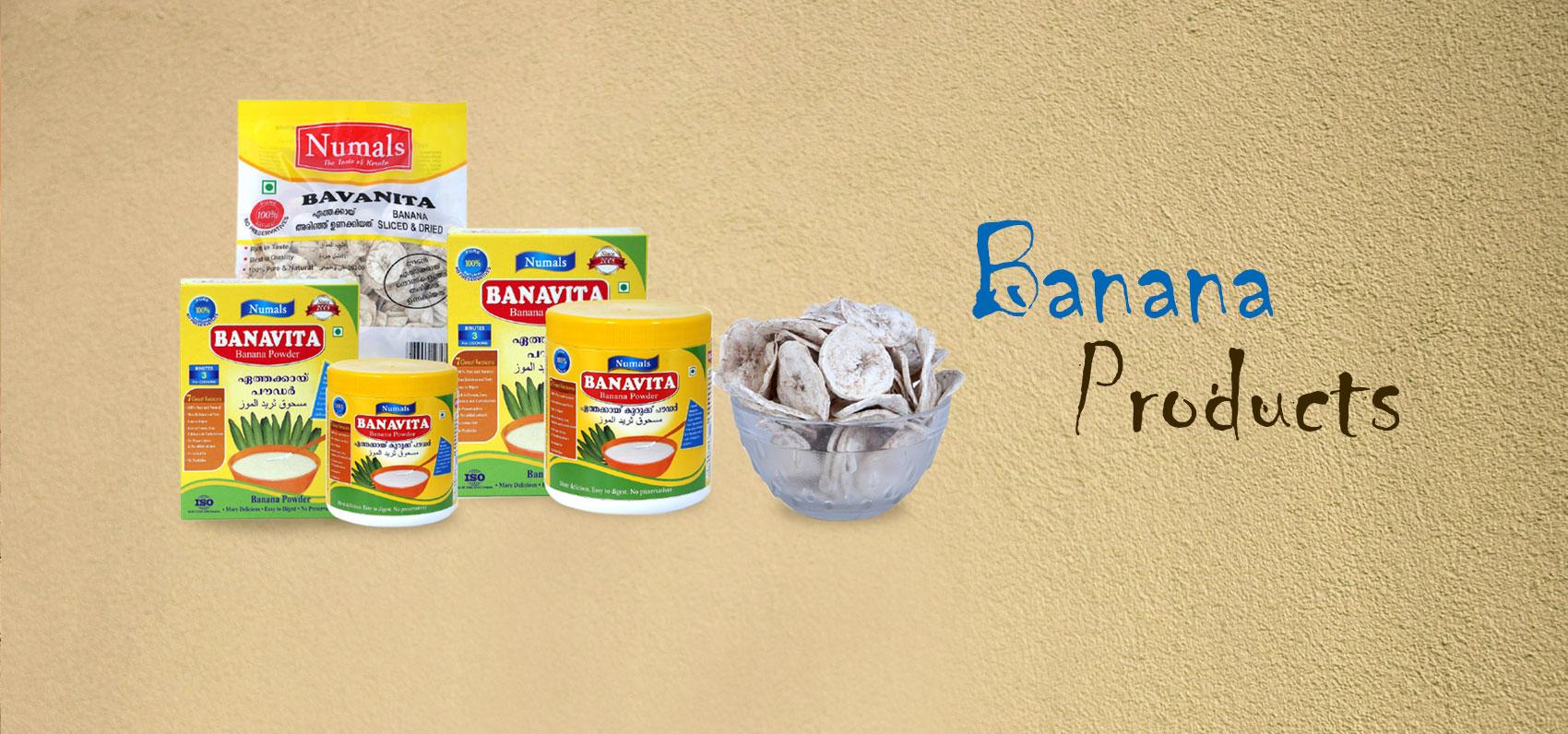 banana products